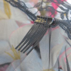 Acessório de Fixação de Véu – Pentinho Plástico