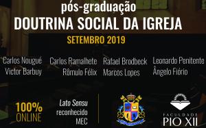 Pós-graduação em Doutrina Social da Igreja